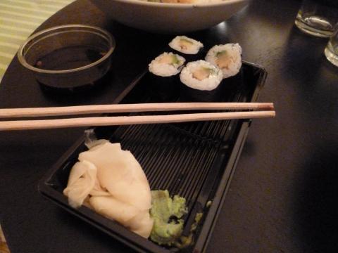 papa no restaurante japones