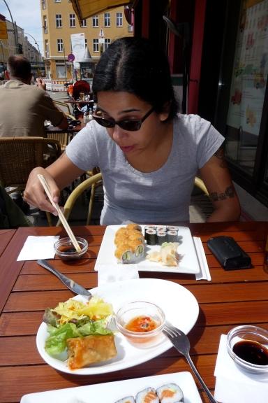 comida japonesa vegetariana