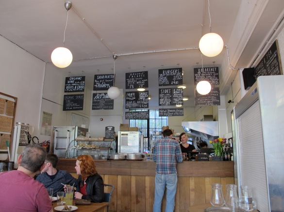 Cafe Kino - selfservice with tasty Burger options