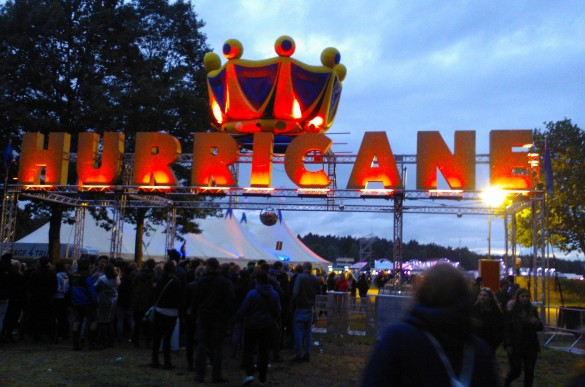 hurricane festival comida vegetariana